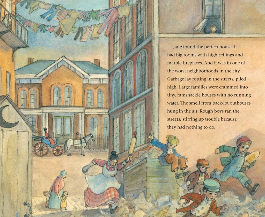 celebrate-picture-books-picture-book-the-house-that-jane-built-Chicago-neighborhood