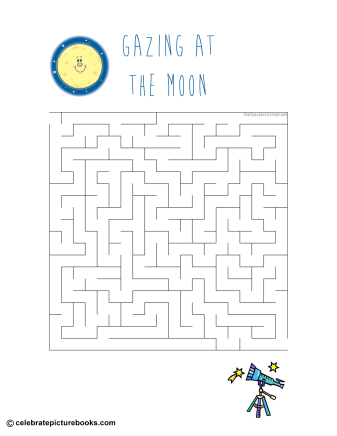 celebrate-picture-books-picture-book-review-gazing-at-the-moon-maze
