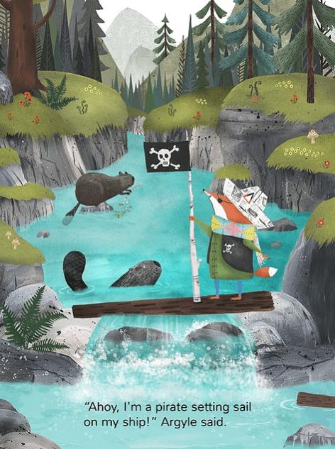 celebrate-picture-books-picture-book-review-argyle-fox-pirate