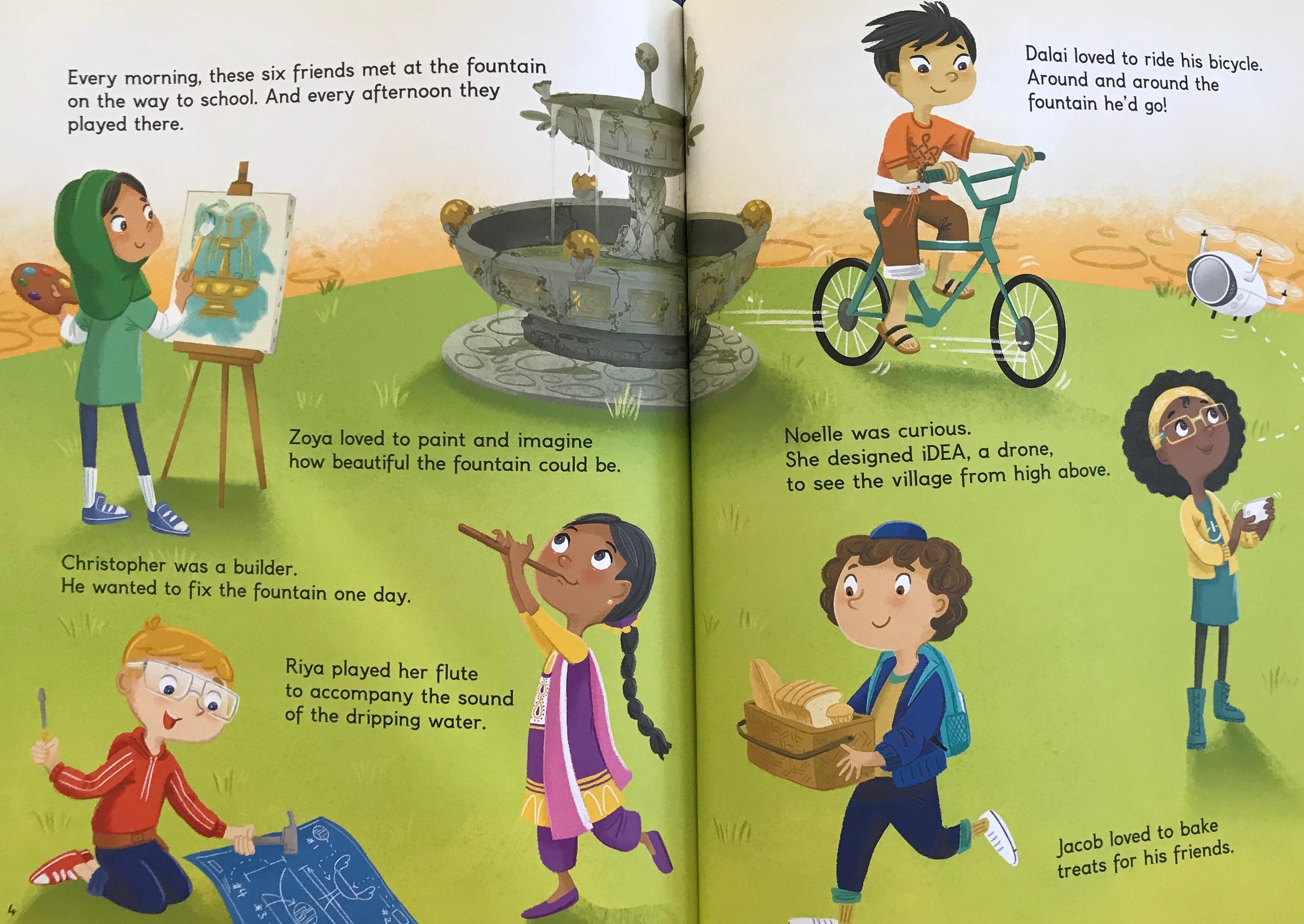 celebrate-picture-books-picture-book-review-gokul-village-and-the -magic-fountain-children