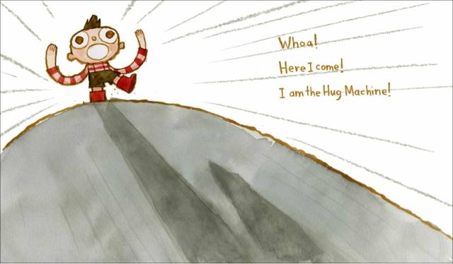 celebrate-picture-books-picture-book-review-hug-machine-over-the-hill