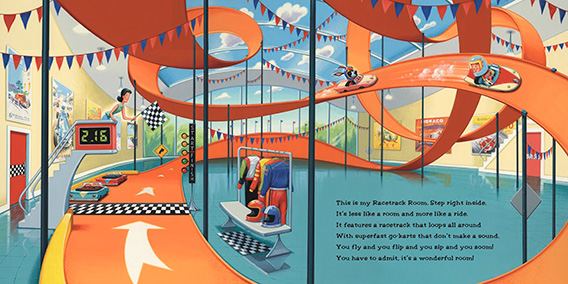 celebrate-picture-books-picture-book-review-if-i-built-a-house-racetrack-room