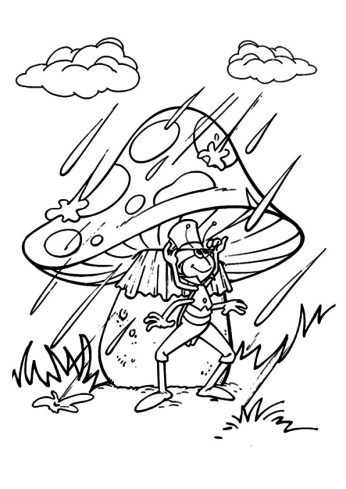 celebrate-picture-books-picture-book-review-rainy-day-with-mushroom-and-cricket-coloring-page