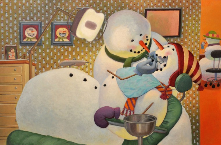 celebrate-picture-books-picture-book-review-snowmen-at-work-dentist
