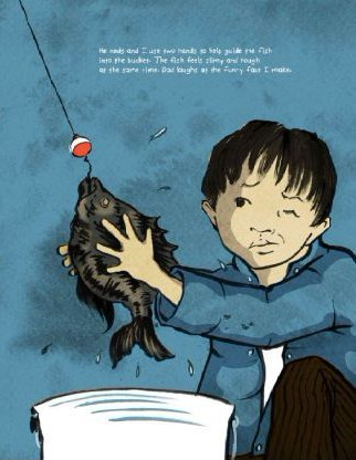 celebrate-picture-books-picture-book-review-a-different-pond-guiding-fish