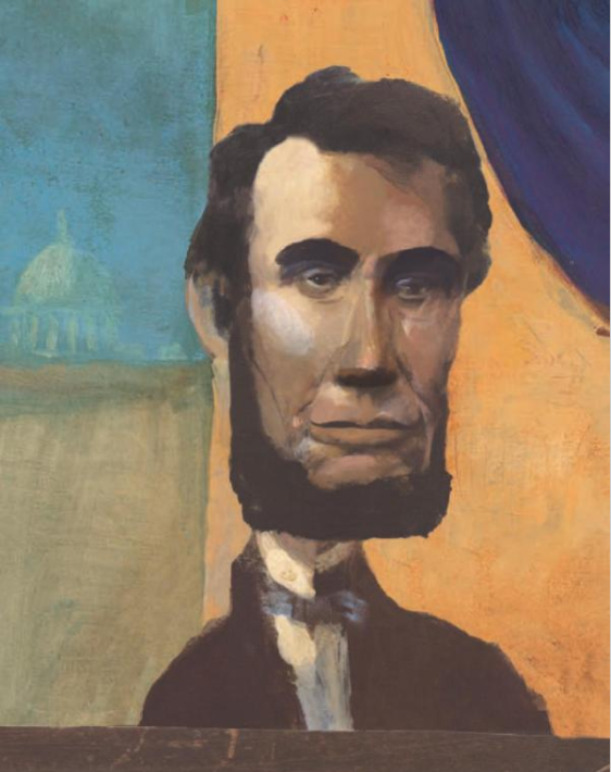 celebrate-picture-books-picture-book-review-lincoln-tells-a-joke-lincoln-portrait