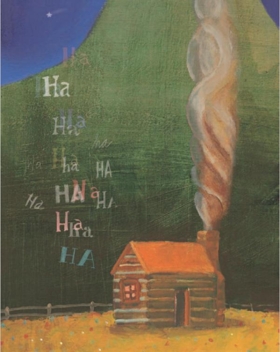 celebrate-picture-books-picture-book-review-lincoln-tells-a-joke-log-cabin