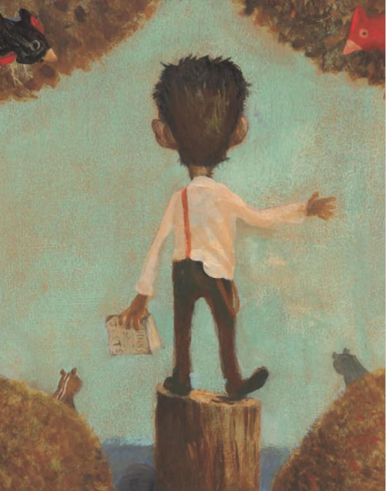 celebrate-picture-books-picture-book-review-lincoln-tells-a-joke-on-stump