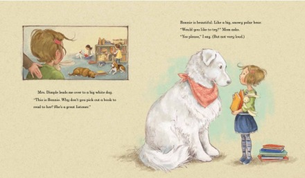 celebrate-picture-books-picture-book-review-madeline-finn-and-the-library-dog-meets-bonnie