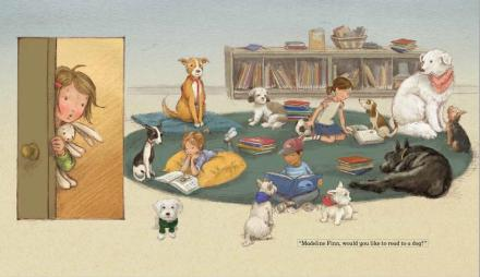 celebrate-picture-books-picture-book-review-madeline-finn-and-the-library-dog-reading-rug