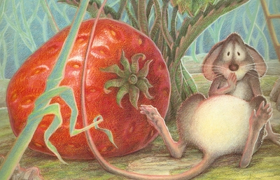 celebrate-picture-books-picture-book-review-the-little-mouse-the-red-ripe-strawberry-and-the-big-hungry-bear-oops