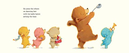 celebrate-picture-books-picture-book-review-bears-in-a-band-all-playing-with-big-bear