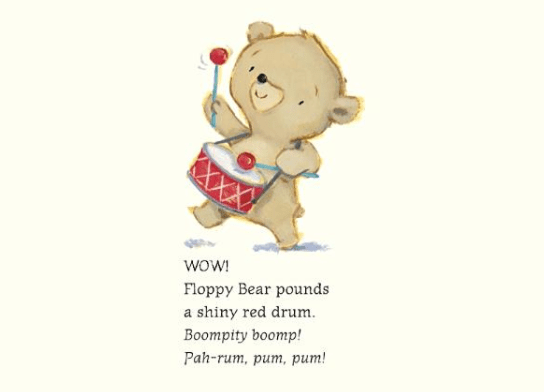 celebrate-picture-books-picture-book-review-bears-in-a-band-floppy-bear