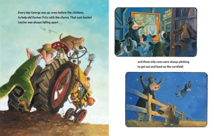 celebrate-picture-books-picture-book-review-george-the-hero-hound-tractor