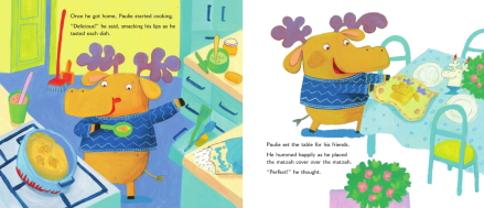 celebrate-picture-books-picture-book-review-paulie's-passover-predicament-cooking