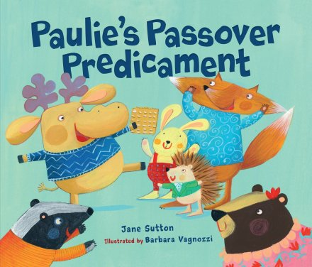 celebrate-picture-books-picture-book-review-paulie's-passover-predicament-cover