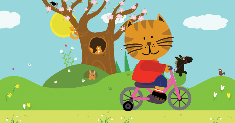 celebrate-picture-books-picture-book-review-sammy-in-the-spring-bike