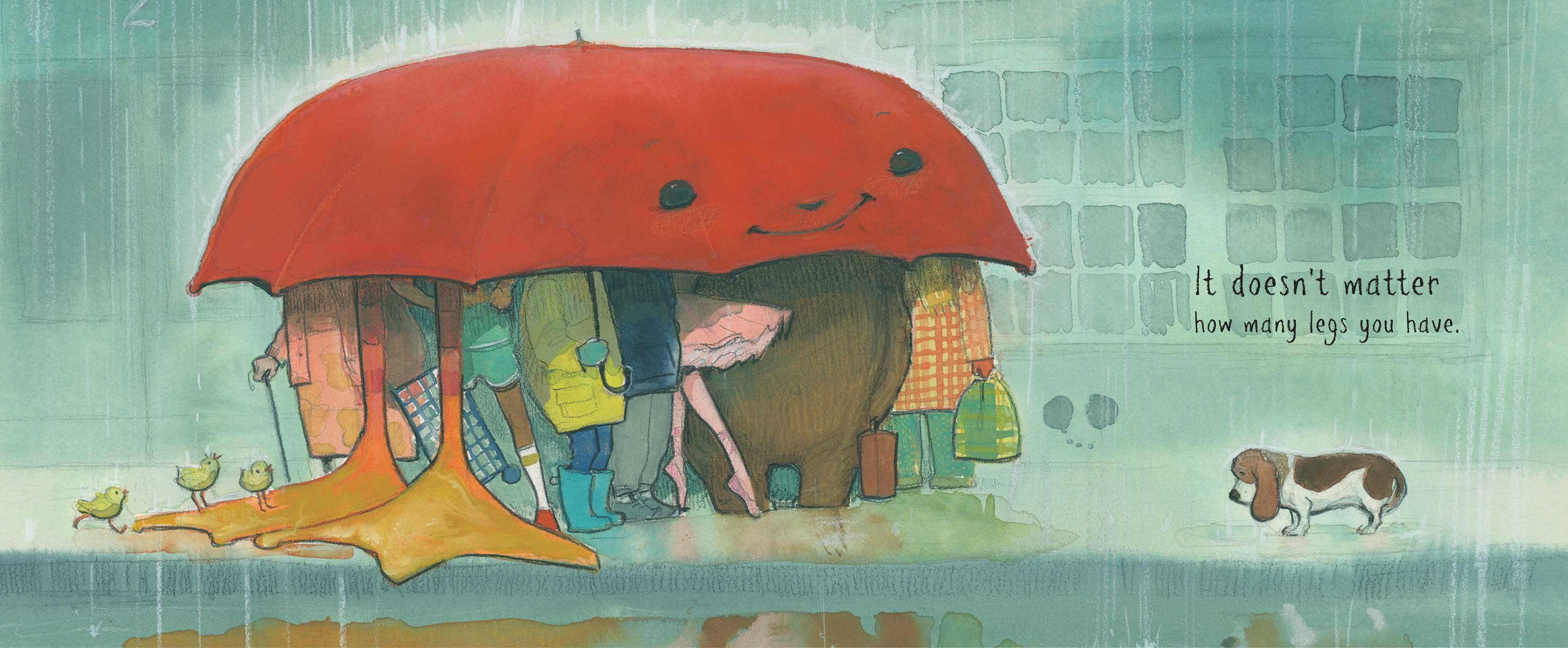 celebrate-picture-books-picture-book-review-the-big-umbrella-a-group