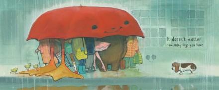 celebrate-picture-books-picture-book-review-the-big-umbrella-a-group