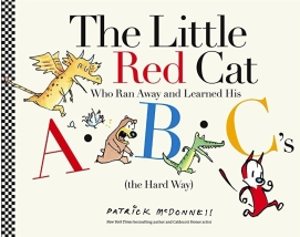 celebrate-picture-books-picture-book-review-the-little-red-cat-who-ran-away-and-learned-his-abc's-the-hard-way-cover