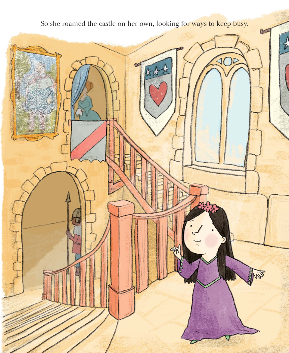 celebrate-picture-books-picture-book-review-the-princess-and-the-cafe-on-the-moat-inside-castle