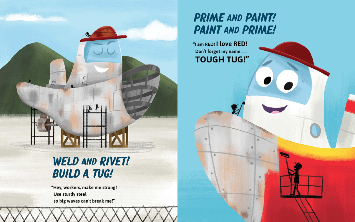 celebrate-picture-books-picture-book-review-tough-tug-being-built