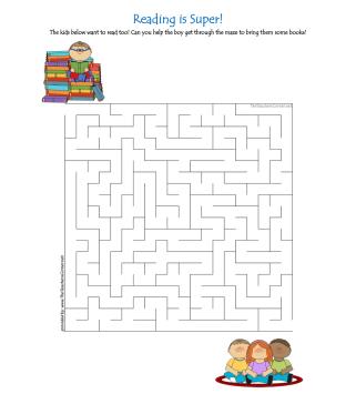 celebrate-picture-books-picture-book-review-reading-is-super-maze