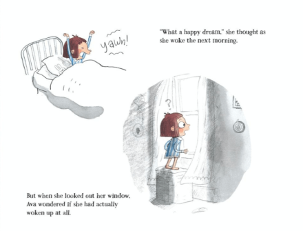 celebrate-picture-books-picture-book-review-ava-and-the-rainbow-who-stayed-ava-wakes-up