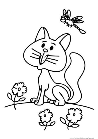 Pippa percival pancake poppy four peppy puppies for Poppy cat coloring pages