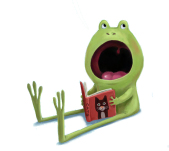 celebrate-picture-books-picture-book-review-i-don't-want-to-be-a-frog-little-frog
