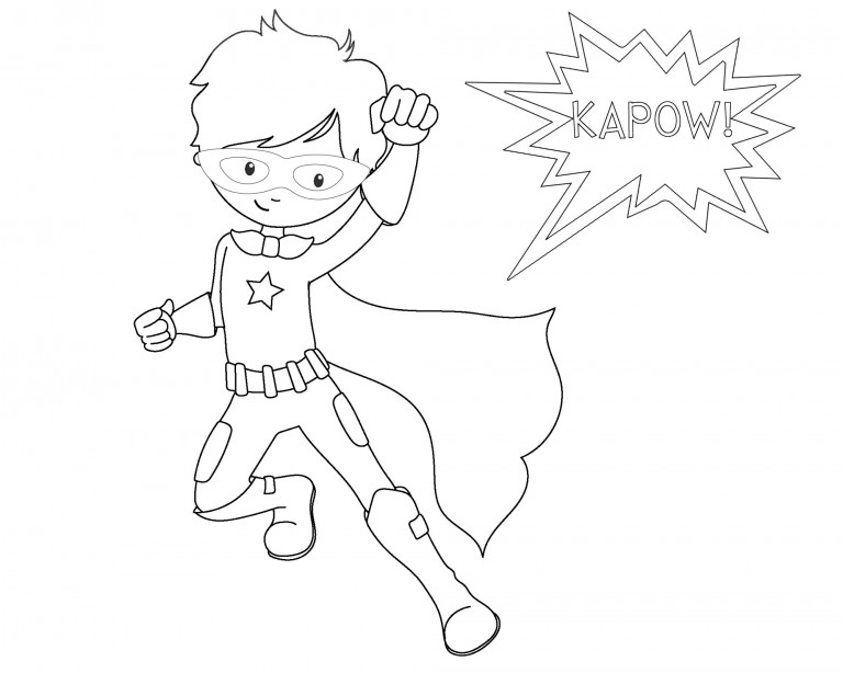 celebrate-picture-books-picture-book-review-kapow-superhero-coloring-page