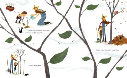 celebrate-picture-books-picture-book-review-kate-who-tamed-the-wind-planting-trees