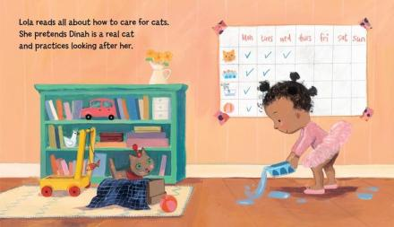 celebrate-picture-books-picture-book-review-lola-gets-a-cat-feeds-dinah