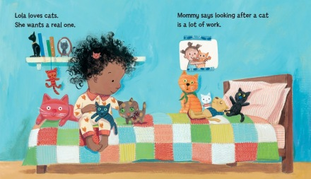 celebrate-picture-books-picture-book-review-lola-gets-a-cat-loves-cats