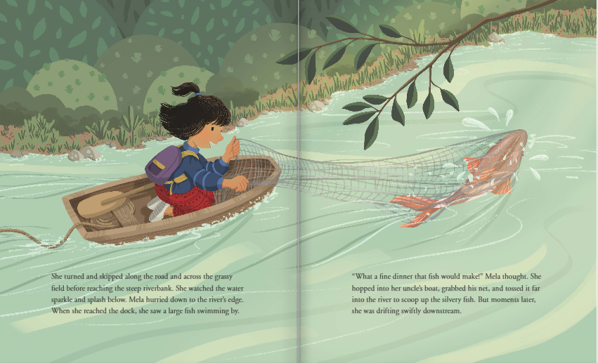 celebrate-picture-books-picture-book-review-mela-and-the-elephant-mela-fishing