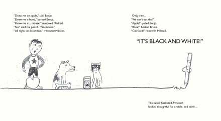 celebrate-picture-books-picture-book-review-the-pencil-black-and-white