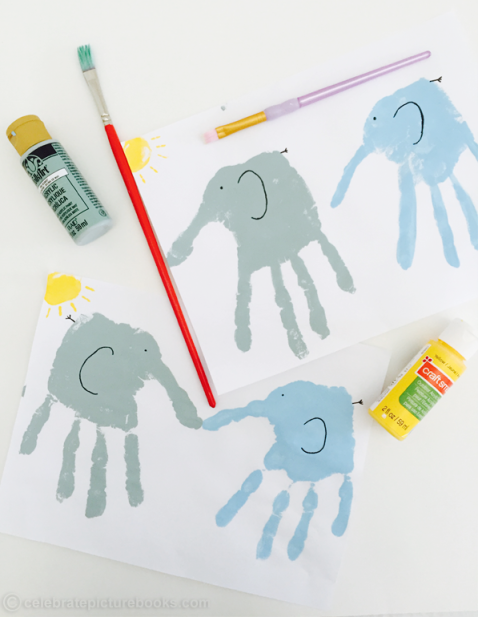 celebrate-picture-books-picture-book-review-hand-print-elephants-craft