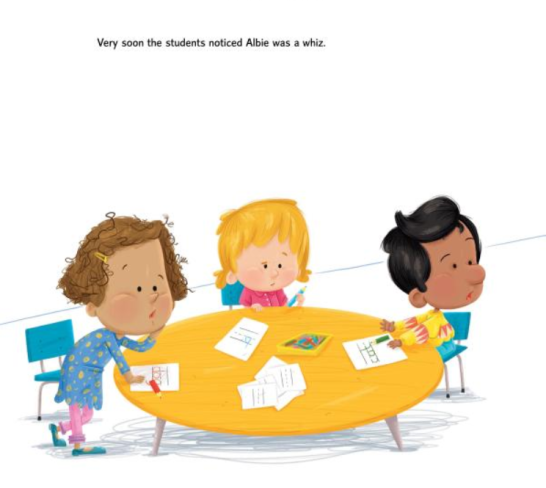 celebrate-picture-books-picture-book-review-albie-newton-spelling