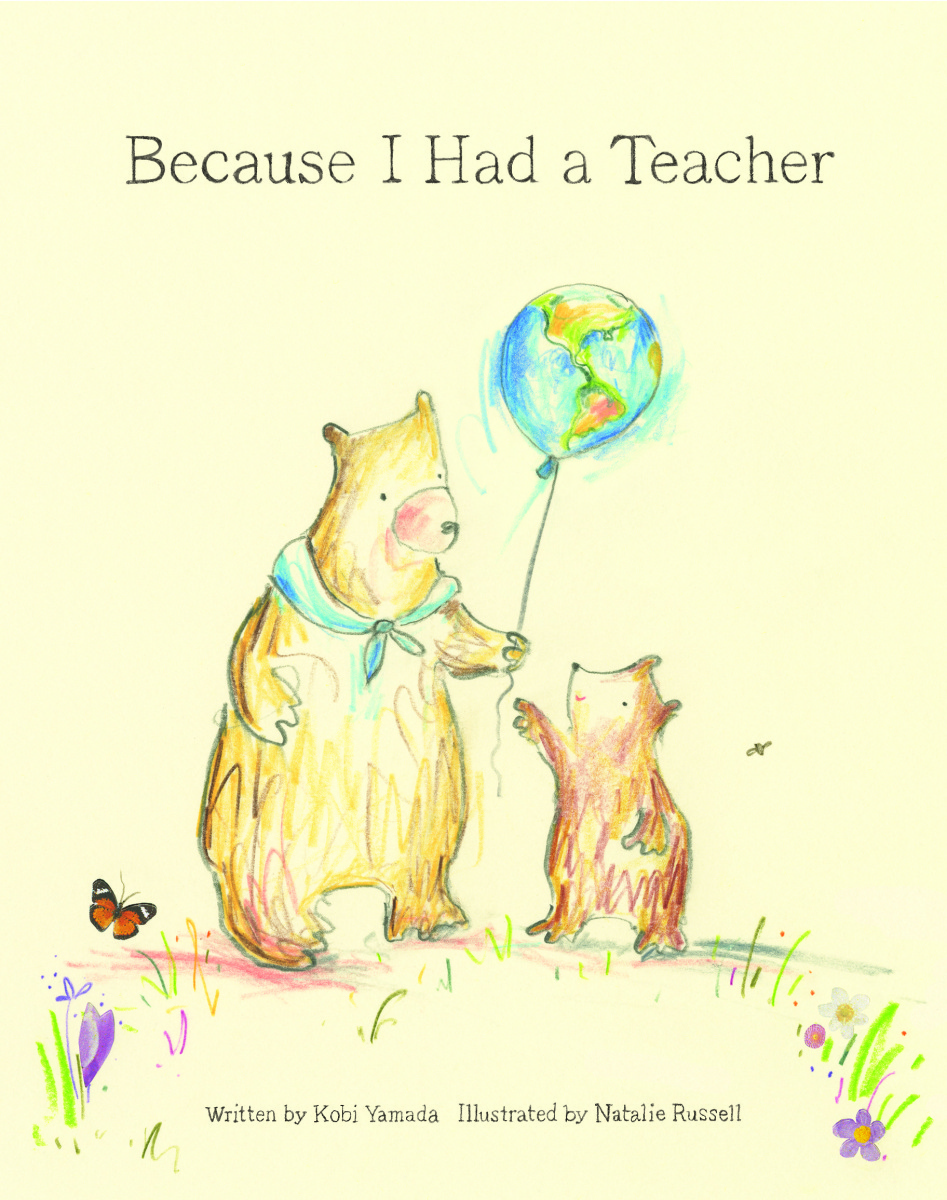 celebrate-picture-books-picture-book-review-because-I-had-a-teacher-cover