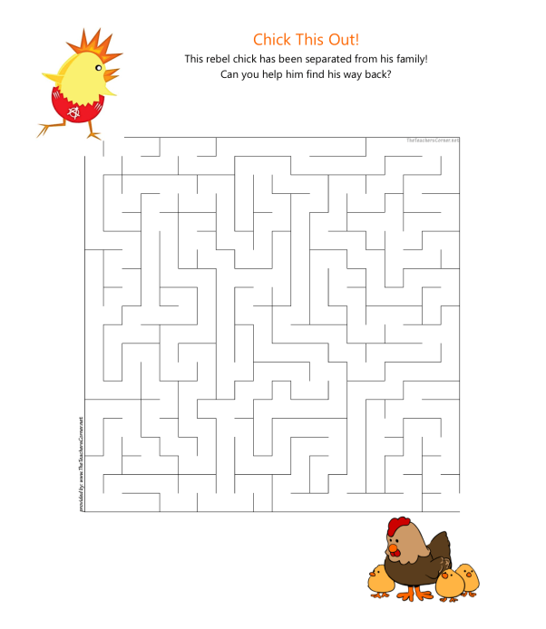 celebrate-picture-books-picture-book-review-Chick-This-Out-maze