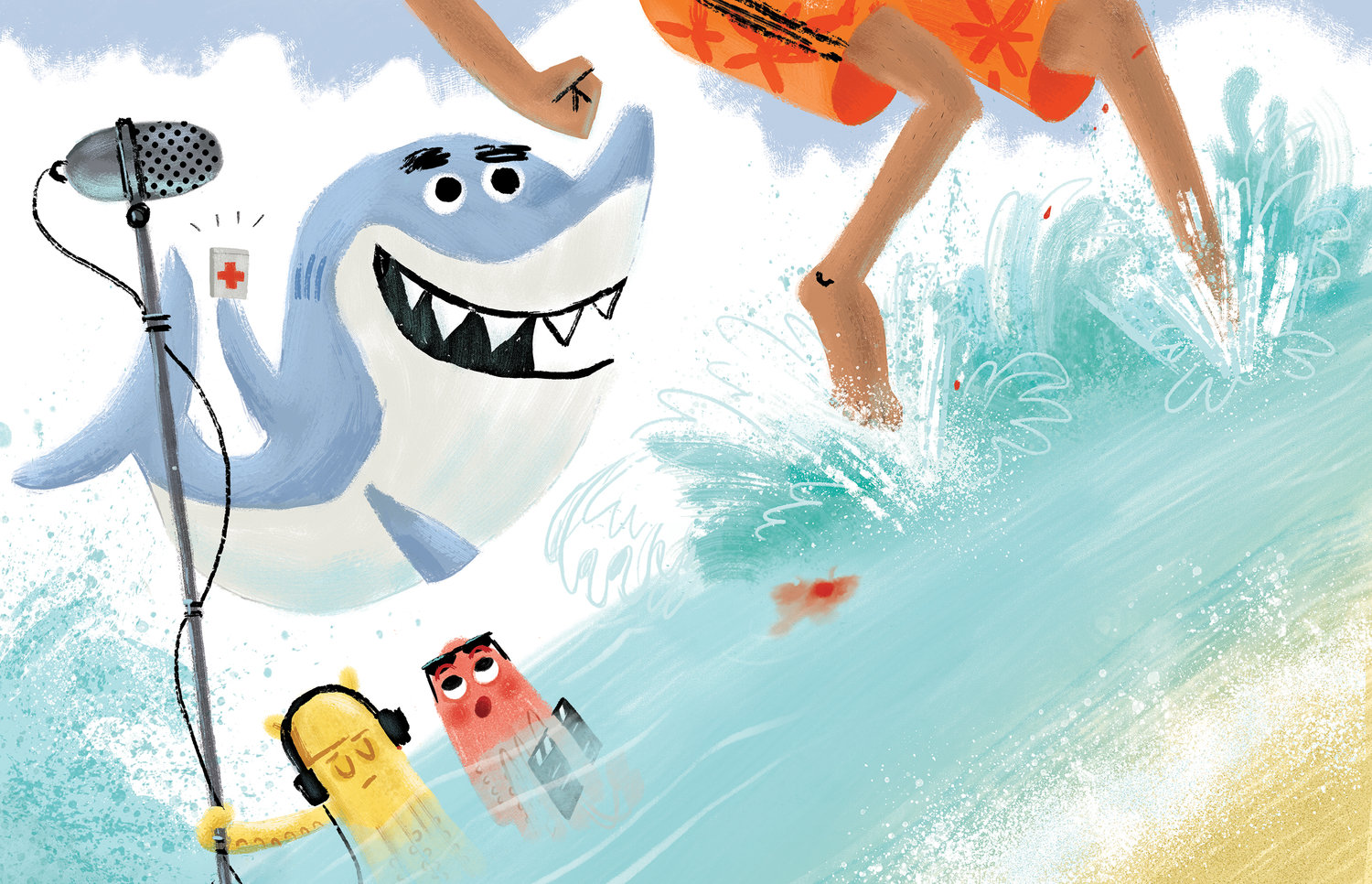 celebrate-picture-books-picture-book-review-misunderstood-shark-band-aids