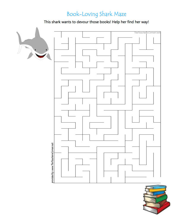 celebrate-picture-books-picture-book-review-shark-and-books-maze