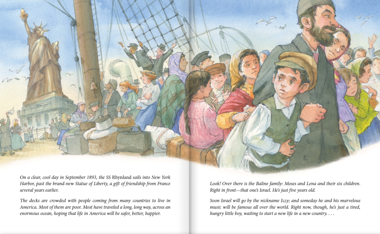 celebrate-picture-books-picture-book-review-write-on-irving-berlin-immigrating