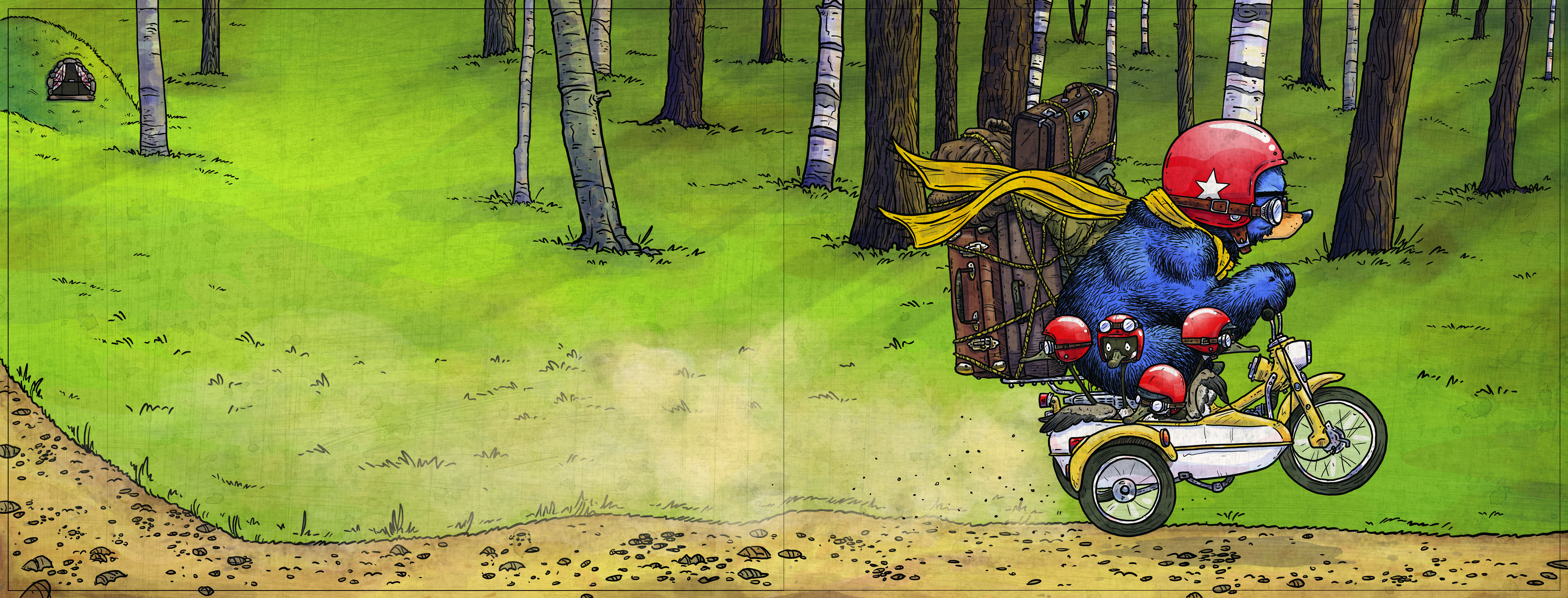 celebrate-picture-books-picture-book-review-bruce's-big-move-motorcycle
