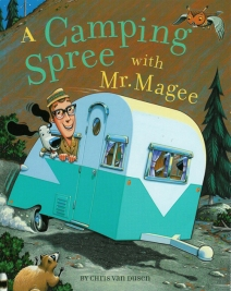 celebrate-picture-books-picture-book-review-a-camping-spree-with-mr-magee-cover