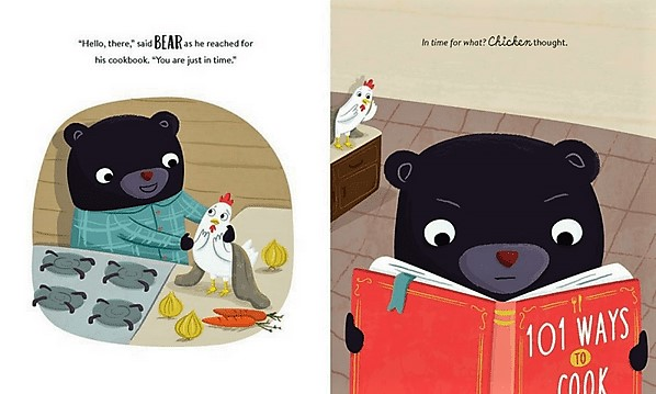 celebrate-picture-books-picture-book-review-bear-and-chicken-double-spread