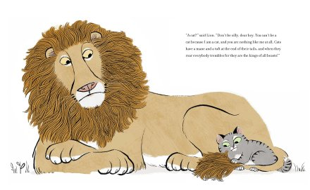 celebrate-picture-books-picture-book-review-I-am-a-cat-lion