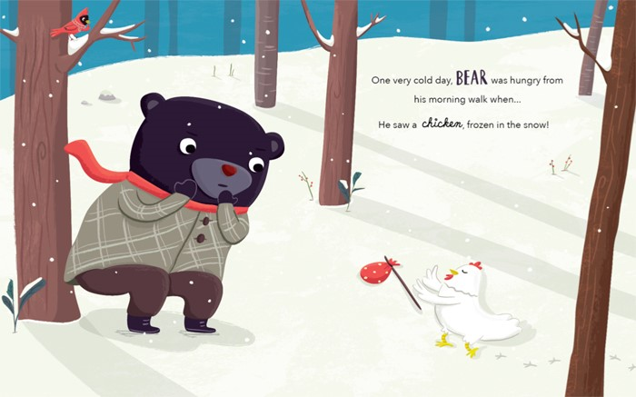 celebrate-picture-books-picture-book-review-Interview-with-Jannie-Ho-bear-finds-chicken