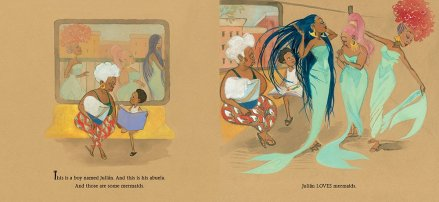 celebrate-picture-books-picture-book-review-Julián-Is-a-Mermaid-subway