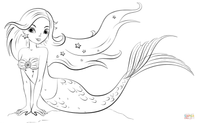 celebrate-picture-books-picture-book-review-mermaid-coloring-page